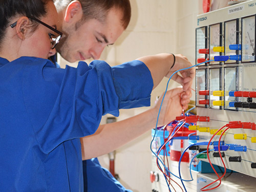 Electrical Engineering Apprentices In Action